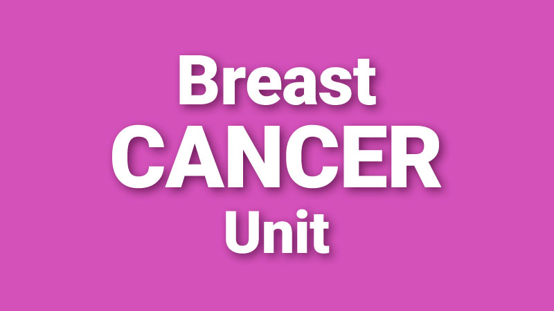 Breast Cancer Unit - baner