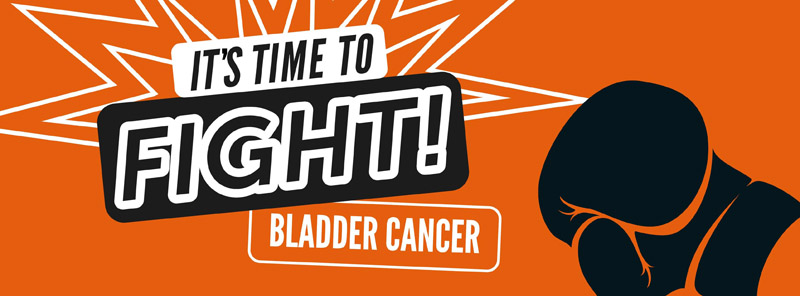 baner kampanii bladder cancer awarness month